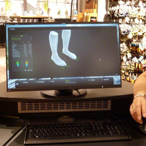 3D-Fußscanner von Corpus e